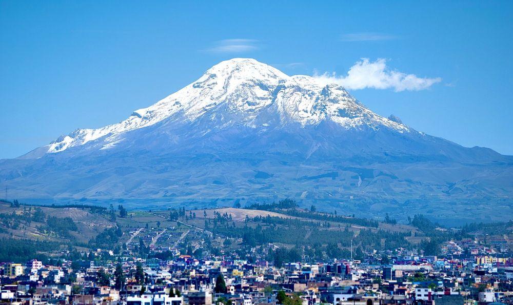 地球で一番高い(?)チンボラソ山