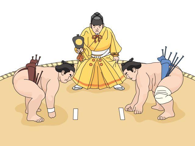 大相撲の東と西